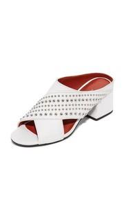 Туфли без задника Cube с ремешками крест-накрест 3.1 Phillip Lim