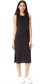 Платье без рукавов с оборками Grey Jason Wu
