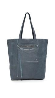 Объемная сумка с короткими ручками McQ Alexander Mc Queen