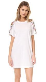 Платье с отстроченной лентой 3.1 Phillip Lim