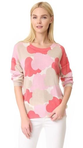 Кашемировый свитер Cloud от Claudia Schiffer x TSE