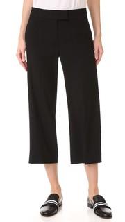Широкие укороченные брюки Dkny