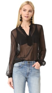 Блуза с длинными рукавами Diane von Furstenberg