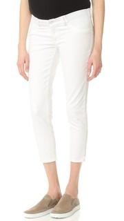 Укороченные джинсы для беременных Florence Dl1961