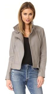 Куртка Lisa из шагреневой кожи Mackage