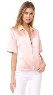 Рубашка на молнии Western 3.1 Phillip Lim