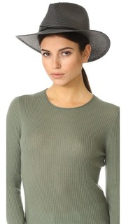 Складная соломенная шляпа-федора Rag & Bone