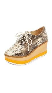 Ботинки на шнурках Zaza на платформе Schutz
