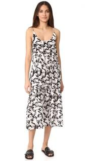 Макси-платье с принтами Iconic Stella Mc Cartney