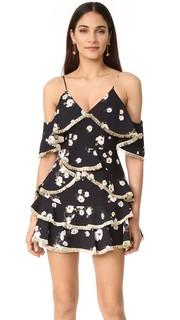 Винтажное мини-платье с цветочным рисунком Talulah