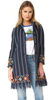 Пальто Luna с декоративной отделкой Tory Burch