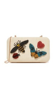 Клатч Shirley Insects Alice + Olivia