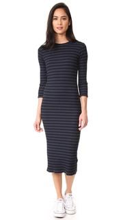 Платье-свитер в полоску Monrow