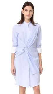 Платье-рубашка Rowe в полоску Acler