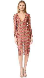 Текстурированное миди-платье Amelia For Love & Lemons