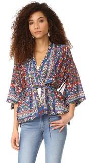 Блуза Gitane с запахом MES Demoiselles