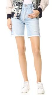 Классические шорты Jamie с высокой посадкой «герлфренд» Agolde