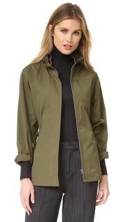 Куртка в стиле милитари Grey Jason Wu