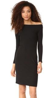 Платье с открытыми плечами James Perse