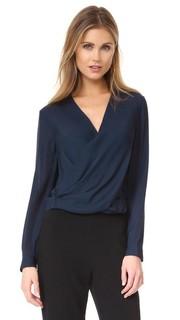 Блуза Gia с кнопками сзади Lagence