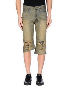 Джинсовые брюки-капри IF SIX WAS Nine