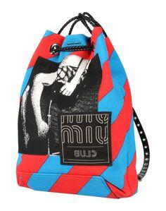Рюкзаки и сумки на пояс Miu Miu