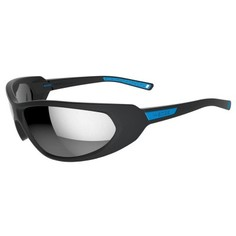 Солнцезащитные Лыжные Очки Skiing 500, Взр., Кат. 4 - Черный/синий Wedze