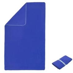 Полотенце Из Микрофибры Ultra-compact Размер L 80 X 130 См - Голубое Nabaiji