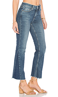 Pieced colette crop jean - PAIGE