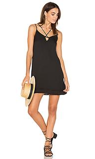 Платье с перекрестными шлейками - krisa