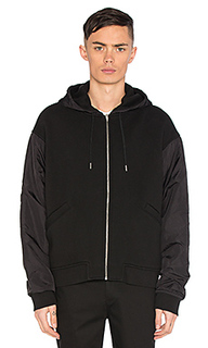 Nylon combo jacket - T by Alexander Wang