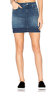 The undone hem mini skirt - MOTHER