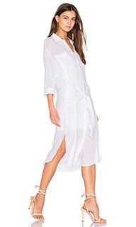 Платье-рубашка с завязкой andria - Line & Dot