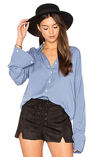 Flare cuff washed shirt - MINKPINK