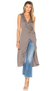 The hi-low wrap blouse - LAcademie