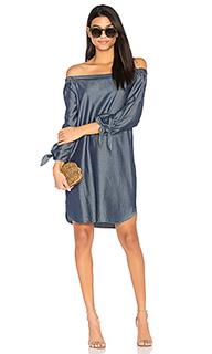Платье со спущенными плечами sable - CHARLI