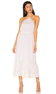 Миди-платье на шлейках cayo blanco - boemo