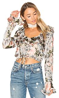 Блуза с рюшами luciana - For Love & Lemons