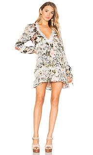 Платье с юбкой-солнце luciana - For Love & Lemons
