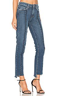 Укороченные джинсы с неровным низом julia - PAIGE