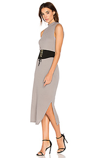 Crepe knit midi dress - Stateside