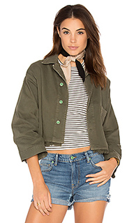 Джинсовая куртка с вышивкой - Sandrine Rose