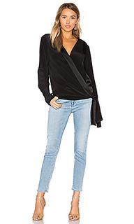 Блуза с запахом спереди - Diane von Furstenberg