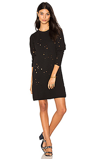 Destroyed sweatshirt dress - LNA