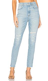 Супер узкие джинсы высокой посадки roxanne - AGOLDE