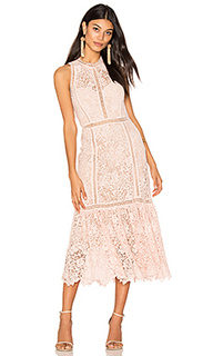 Платье миди arella midi - Rebecca Taylor