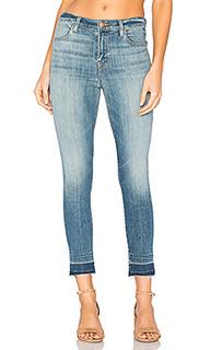 Укороченные облегающие джинсы с высокой посадкой alana - J Brand