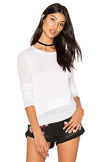 Layered crew neck sweater - Inhabit