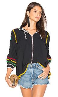 Блуза с вышивкой крошё oaxaca - Carolina K