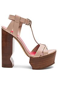 Caged platform heel - Pura Lopez
